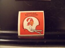 1977 NFL Football Helmet Sticker Decal Tampa Bay Buccaneers Sunbeam Bread