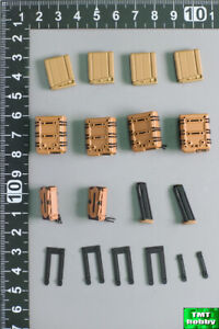 1:6 Scale ES Easy & Simple 06025A Scar Multi Caliber DMR Set - Mag & Holster Set