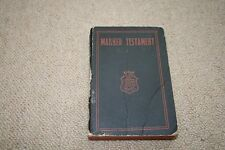 MARKED TESTAMENT  DATED 1944