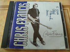 Chris Francis - Chris Francis (CD 2001) TEN AUTOGRAPHED ON FRONT COVER