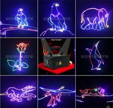 TOP DMX Full Color 3D Animation RGB 500mW Laser Beam DJ Christmas Stage Light KK