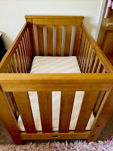Boori cotbed Cot Country Collection Plus Mattress ages 6 mths to 7 years