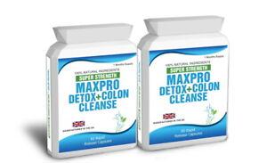 120 Max Cleanse Pro Colon Detox Plus Bioslim Free Weight Loss Pills Diet Tips