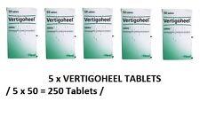 5 packs x Vertigoheel tablets for the temporary relief of lightheadedness