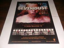 "Sevendust ""Animosity"" Advertisement Mini-Poster Clipping"