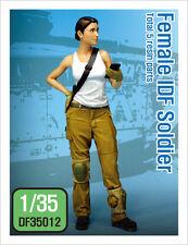 DEF.MODEL, DF35012, Modern IDF Female Soldier  (1 FIGURE), 1:35