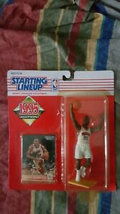 NBA 1995 STARTING LINEUP CLARENCE WEATHERSPOON PHILADELPHIA 76ers KENNER