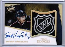 11/12 PANINI PRIME TOMAS KUBALIK ROOKIES NHL LOGO SHIELD AUTO 1/1 COLUMBUS CBJ