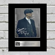 Cillian Murphy Signed Mounted Photo Display Tommy Shelby - Peaky Blinders