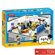 Oxford Block Infinite Challenge Office MC3419 Korea Brick Building Toy 무한도전 무한상사