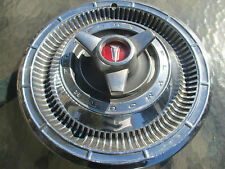 one genuine 1966 Plymouth Belvedere spinner 14 inch hubcap wheel cover
