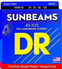DR NMR-45 Sunbeams Nickel Plated Bass Guitar Strings - Medium (45-105)