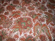 """Vintage Brown/Red/Copper Knit Fabric  45"""" x 1 Yard (983)"""