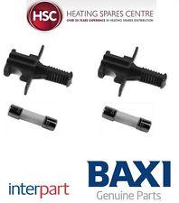 BAXI DUOTEC 24HEA 28HEA 33HEA & 40HEA PCB FUSE & HOLDER PACK OF 2 720853801 NEW