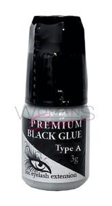 Wimpernkleber Hypoallergen Anti-Allergie Kleber Premium Black Type A Sensitiv 3g