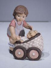 +# A006015 Goebel Archiv Muster Nina & Marco und Susi in Kinderwagen 10-948