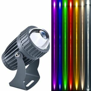 LED Spotlight Outdoor Waterproof Narrow Beam Angle Floodlight Lamp Spot Lights