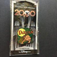DS Countdown to Millennium Series #16 Tarzan Disney Pin 720