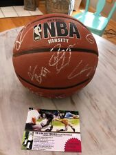Chicago Bulls Team Signed Game Ball 2011 2012 Rose Butler Noah Korver Deng James