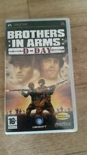 BROTHERS IN ARMS D-Day (16+) 2007  Ubisoft Sony PSP Game (French Version)