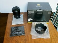 Nikon NIKKOR Z 50mm f/1.8 S Low Light Prime  Lens