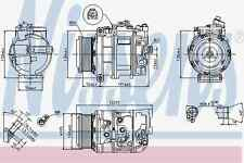 Compresseur climatisation Mercedes-Benz-Nissens 89412