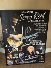 Jerry Reed Tribute Celebration Poster **VERY RARE**