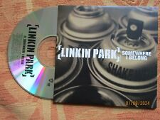 Linkin Park Somewhere I Belong Warner Bros. Records PROMO CD Single