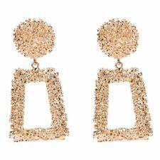 Fashion Women Earrings Acrylic Geometric Pendant Dangle Drop Statement Jewelry