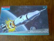 Monogram Saturn V Rocket with Launch Stand Monogram 1/144 scale # 5082