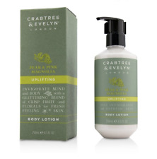 CRABTREE & EVELYN London Pear & Pink Magnolia UPLIFTING Body lotion 250ml