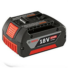 Bosch BAT620 18 Volt Lithium-Ion 4.0 AH Battery Digital Fuel Gauge NEW /Warranty