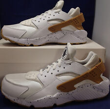 Womens Nike Air Huarache Run iD Croc White SZ 12 /// Mens SZ 10.5 ( 777331-997 )