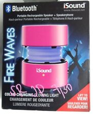 iSound - Fire Waves Bluetooth Speaker with microphone - pink