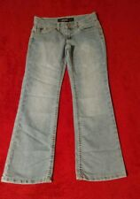 Jordache Girl's Bootcut Denim Blue Jeans Size 8 Slim (W23 L24)