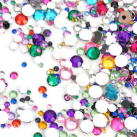 Wholesale 2000pcs Mixed Crystal Flatback Acrylic Rhinestones Beads DIY Nail Art