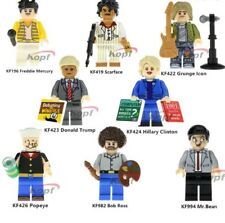 Freddie Mercury Donald Trump Hillary Clinton Popeye Deadpool Building Blocks toy