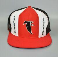 Atlanta Falcons AJD Lucky Stripes NFL Vintage 80's Trucker Snapback Cap Hat
