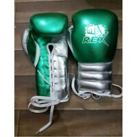 Custom Made Shine Leather MMA Sparring Training & Competition Boxing Gloves