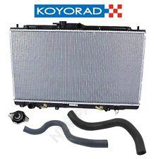 For Koyorad Radiator w/ Cap & Coolant Hoses KIT for Acura TL Honda Accord V6