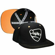 Authentic ROCKET LEAGUE Orange Team Embroidered Snapback Hat NEW