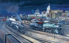 "Jigsaw Puzzle - Great Northern Railroad ""Night at the S.P.U.D - 1000 Piece"