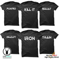 Gym Rabbit Gym Men's Bodybuilding T-shirt - Printed Fitness /Workout Clothing