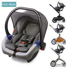 Car Seat FOR Hot Mom Pushchair 3 in 1 Travel System Stroller Pram Grey Group 0+