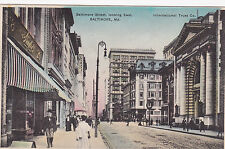 Baltimore , Maryland , 00-10s , Baltimore Street , Looking East