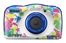 New Nikon digital camera Waterproof 3x COOLPIX W100 Marin 13.17Mp from Japan