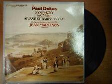 33 RPM Vinyl Paul Dukas Symphony in C Major Connoisseur Society Records012115SM