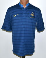 FRANCE NATIONAL TEAM 2012/2013 HOME FOOTBALL SHIRT JERSEY NIKE SIZE M ADULT