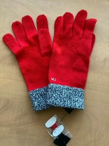 Women's Marc By Marc Jacobs Red Gloves ONE SIZE