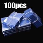 100pcs Heat Shrink Wrap Film Flat Bags For Candles Cosmetics PVC Gift Bag